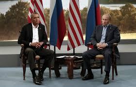 G8: Obama and Putin