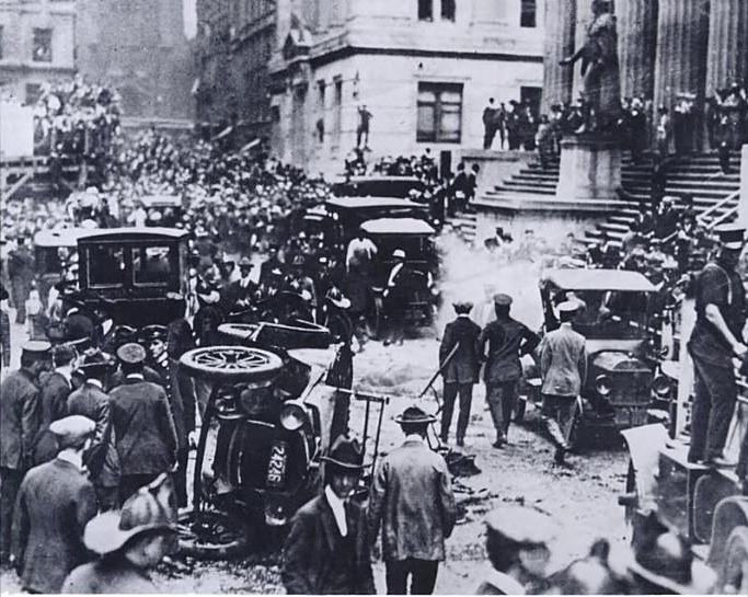 Murder: Wall-Street Bombing 1920