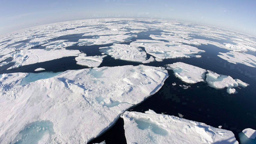 Arctic Sea Ice Thaws