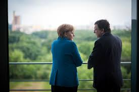 EU Banking Union Merkel and Draghi