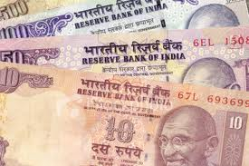 India: Rupee Down