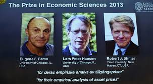 Nobel Prize: Fama, Hansen and Shiller
