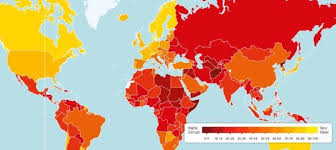 World Corruption Map