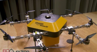 Octocopter Drone Delivery by Amazon